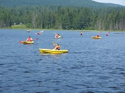 Corporate Group Paddling
