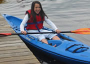 Student From School Group Paddling